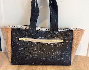 Vegan Cork leather bag
