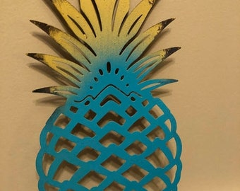 ON SALE, SPRING Sale Pineapple, Pineapple Wall Decor, Cast Iron Wall Decor, Home and Garden Decor, Pineapple Decor