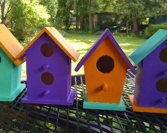 Whimscal Garden BirdHouses