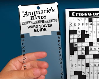 Annmarie's Handy Crossword Puzzle Word Solver Guide