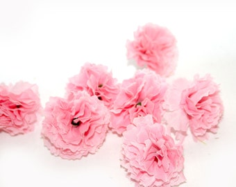 Baby Pink Carnations - 100 count - Artificial Flowers - PRE-ORDER