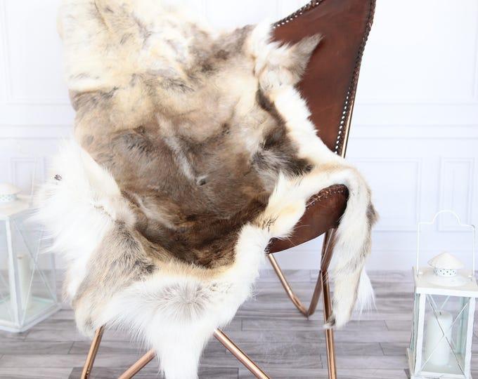 Reindeer Hide | Reindeer Rug | Reindeer Skin | XL LARGE Throw Large - Scandinavian Style #18re21