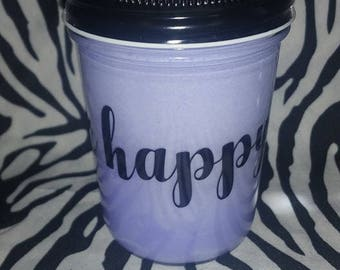 Be Happy 100% Soy Wax Candle