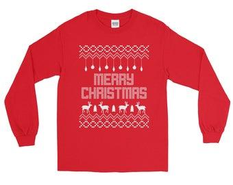Ugly Christmas Sweater, Christmas Party Shirt, Christmas Party Sweater, Ugly Sweater Party, Tacky Christmas Sweater, Merry Christmas