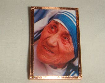 St Mother Teresa Pendant or Pin Brooch inv1812
