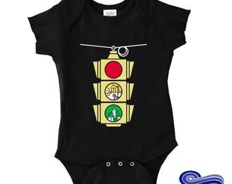 Phish Baby, Slave to the Traffic Light Baby, STTTL Shirt, Animal Baby Onesie, Phish Onesie, Fun Baby Onesie, Unique Baby Shirt