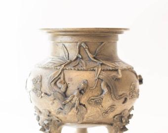 20th Century Bronze Censer