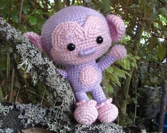 Sweet Monkey Crochet Pattern PDF