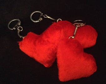small Keychain heart, sold individually