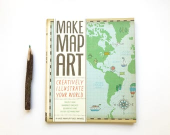 Make Map Art - Creatively Illustrate Your World