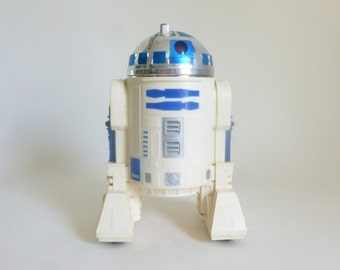 Vintage c. 1976 Star Wars R2-D2 Battery Operated Electronic Robot by Kenner for General Mills - Need Repair
