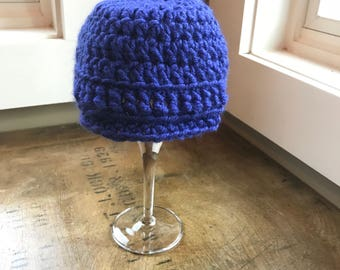 Crochet Fancy Infant Beanie
