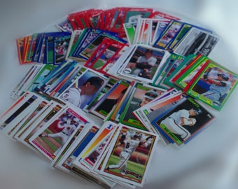 San Francisco Giants set of 231 vintage baseball cards for decoupage, framing, crafts, collecting NL mlb World Series Champs FREE SHIPPING!