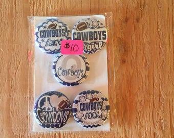 "1.25"" Button Magnets - Dallas Cowboys"