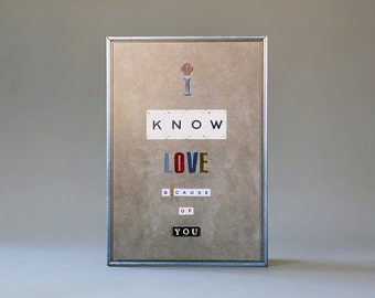 I Know Love Because of You ( Key )