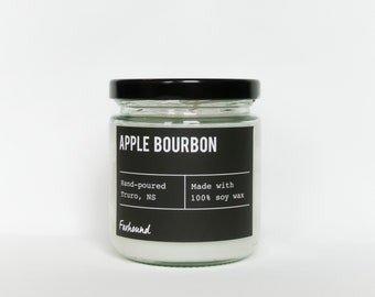 Apple Bourbon soy candle | , natural soy wax | Foxhound  | Candles Soy Candle Gift Idea Home Decor
