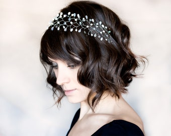 Silver headband, Crystal headband, Headband, Silver bride headband, Hair accessories, Bridal hair accessory wedding, Headbands, Tiara 13