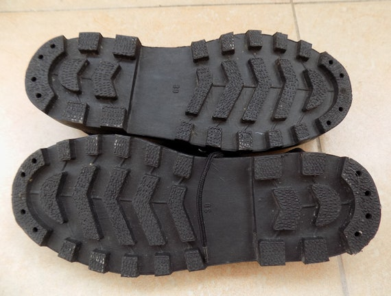 Black Grunge 90's Canvas Fashion Black Sneakers 90's Grunge Sneakers Chunky Canvas Canvas Sneakers 90's Sneakers Vintage Vintage Platform XwPpx5