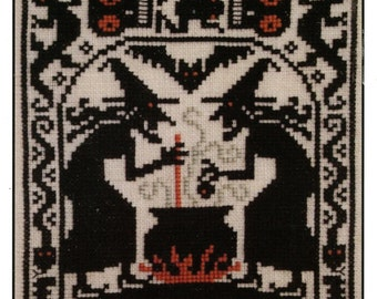 Double Double by Prairie Schooler Counted Cross Stitch Pattern/Chart