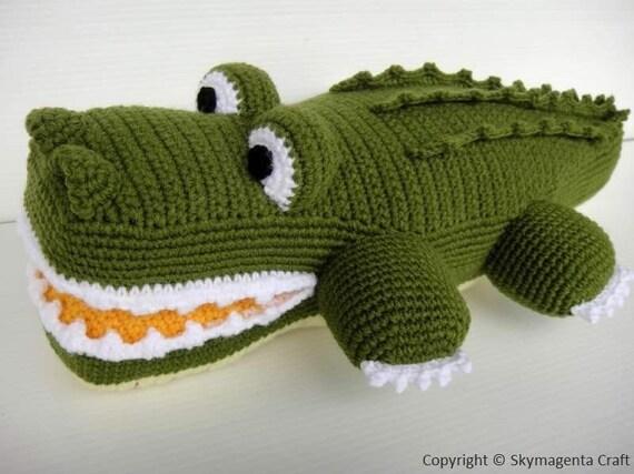 Crochet Pattern Alligator Toys Pdf 00465