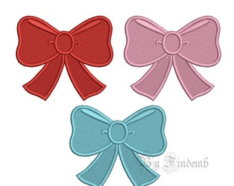 Ribbon Embroidery Designs 7 size Instant Download