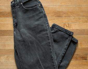 Vtg Women's Jeans Black 8
