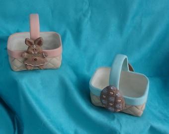 Little Ceramic Baskets