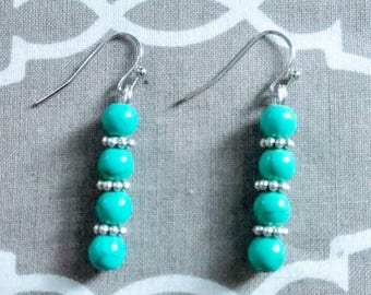 Authentic Turquoise Earrings