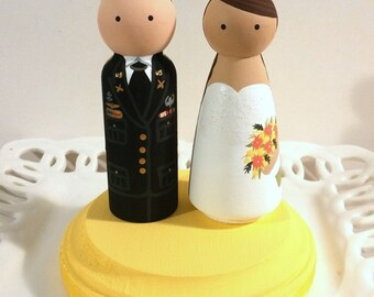 Military Service Cake Cuties Custom Cake Toppers