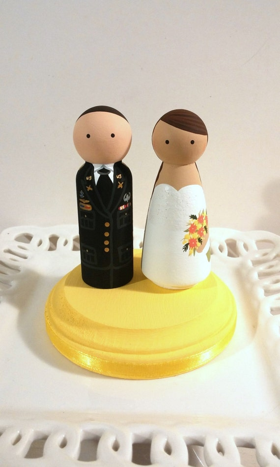 Military Service Cake Cuties Custom Cake Toppers