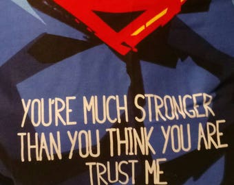 Superman Quote Pillow