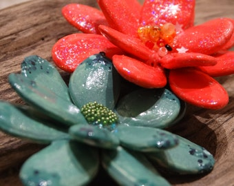 Pumpkin Seed Magnets, You choose colors.-FREE SHIPPING
