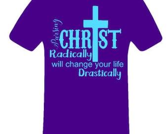 Pursuing Christ shirt