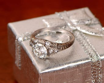 Vintage Engagement Rings Etsy