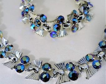 Vintage Claudette Necklace and Bracelet Set