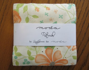 "Refresh Charm Pack by Sandy Gervais for Moda - (42) 5"" x 5"""