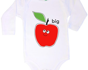 Big Apple longsleeve cotton onesie