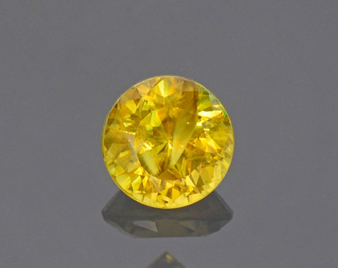 Nice Yellow Sphene Titanite Gemstone from Pakistan 0.67 cts.