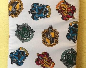 Booksleeve - Harry Potter - Hogwarts house crest