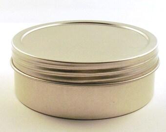 Round Metal Tins Set of 6