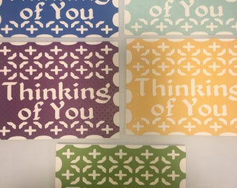 Thinking of You/Get Well Soon Card Pack (20 ea)