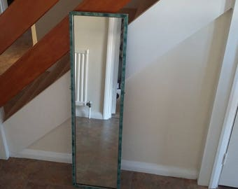 Vintage Retro Long Art Deco Mirror.