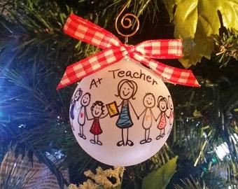 teacher ornament gift,gift for teacher, christmas ornament teacher gift,christmas tree ornament,teacher's gift