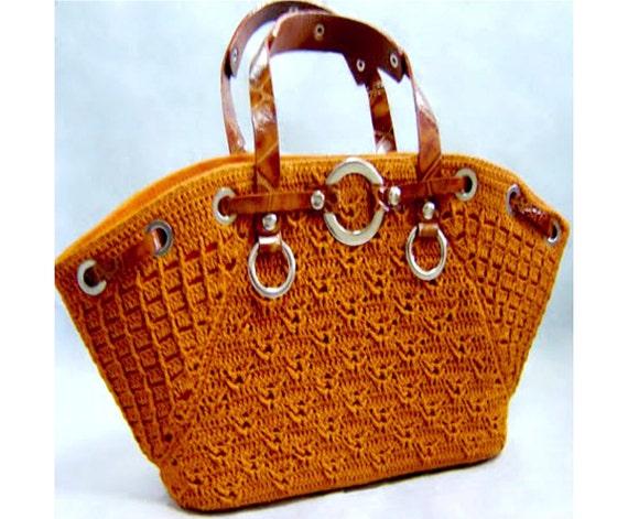 Crochet Bag Pattern Detailed Tutorial In English Crochet Casual