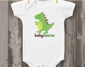 Babysaurus Dinosaur Bodysuit or T-Shirt
