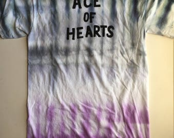 Ace of Hearts Tie Dye T-shirt