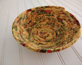 "6"" Coiled Fabric Bowl - Italian Kitchen"