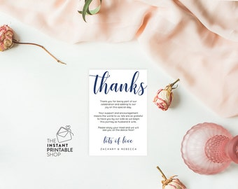Wedding thank you card template, Thank you cards wedding, Thank you template, Wedding printables, Thank you card printable thank you cards