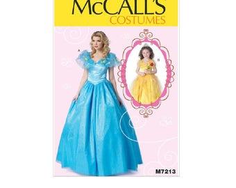 McCall's 7213 (MP254) - Floor-Length Dress with Full Skirt