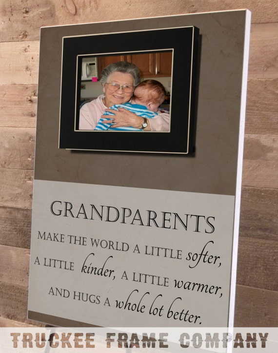 Grandparents Day, Grandparents Christmas Gift, Grandparents Frame ...
